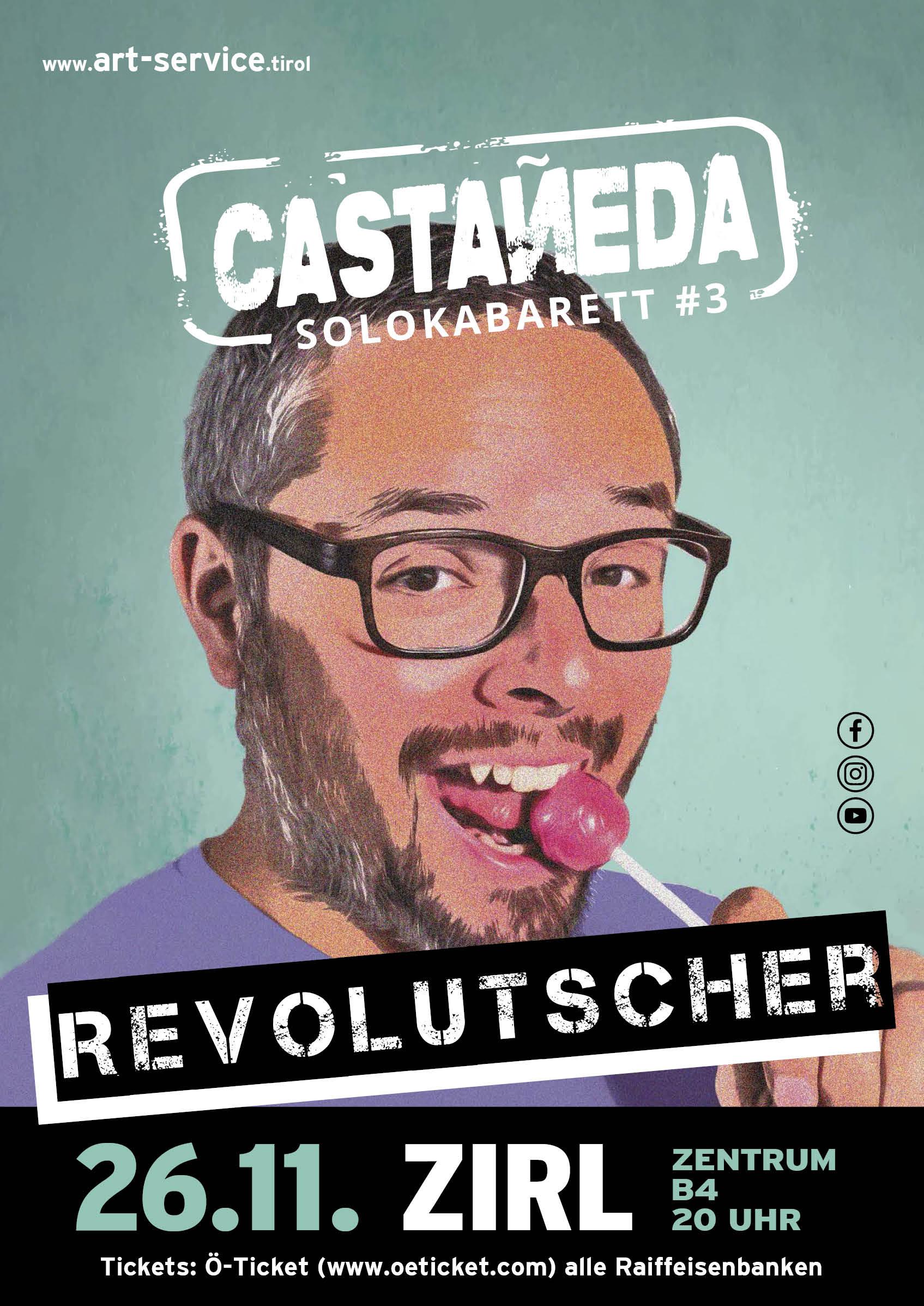 Gabriel Castaneda Zirl Plakat